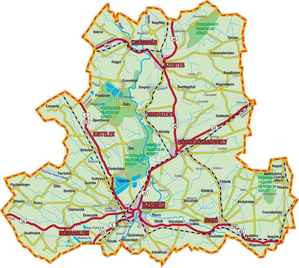 csongrád megye térkép Új felzárkózási és esélyegyenlőségi program indul Csongrád  csongrád megye térkép